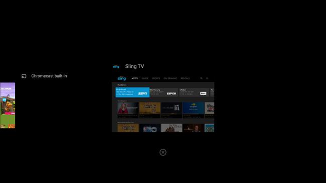 تم إغلاق تطبيق android tv
