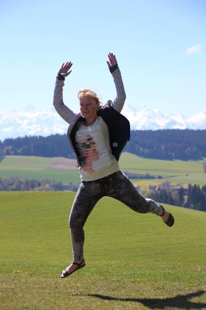 Schweiz Bern Urlaub mit Hund Gurten Gurtenpark Alpen Fernblick