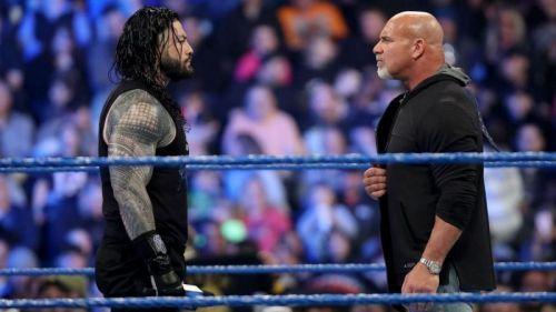 WWE Rumors - Backstage details regarding plans for Roman Reigns vs Goldberg at WrestleMania 36