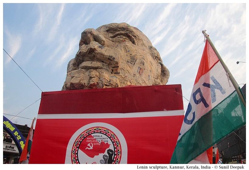 Lenin statue, Kannur, Kerala, India - Images by Sunil Deepak