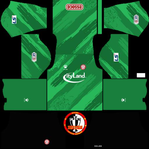 Kits TP Hồ Chí Minh 2021 - Dream League Soccer & FTS