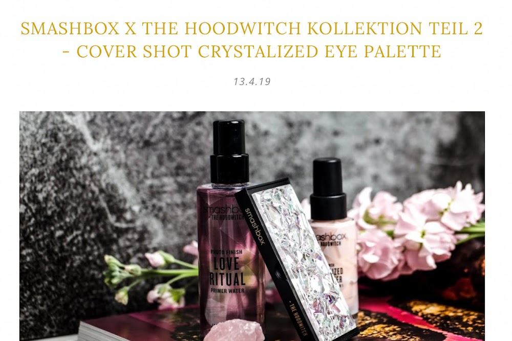 Cover Shot Crystalized eye Palette