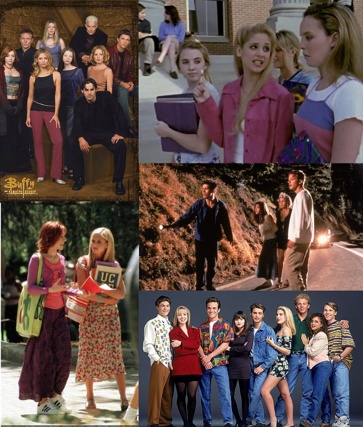 buffy vampire slayer i know what you did summer 90210 90s style