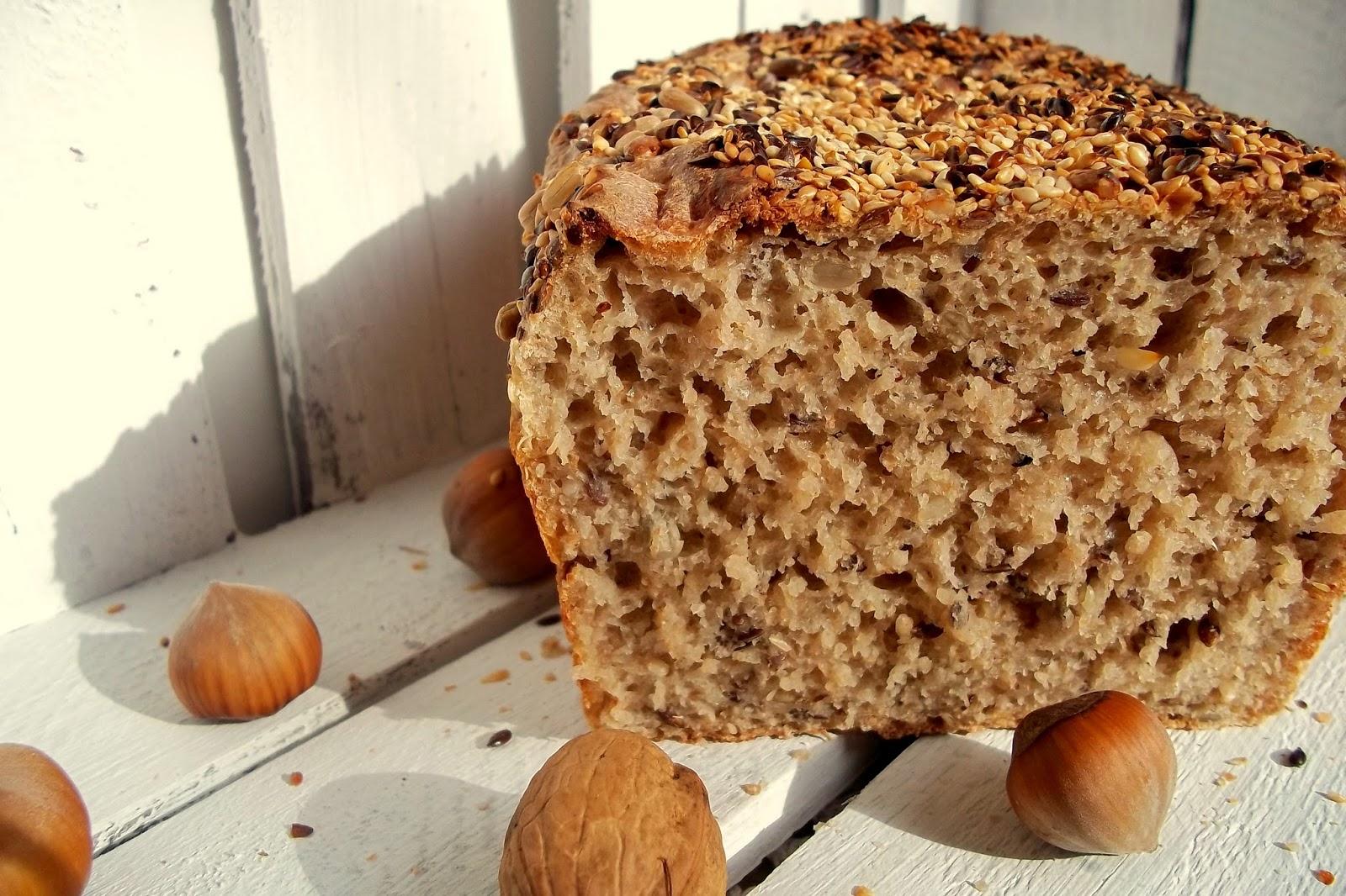 Domowy chleb na zakwasie- przepis na chleb+ zakwas