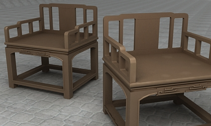 chair 3d model free