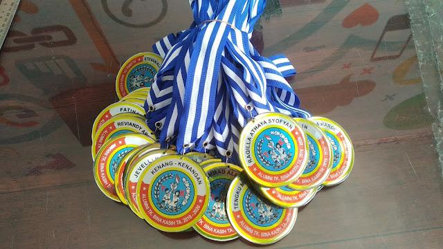 Medali Kenang-Kenangan TK