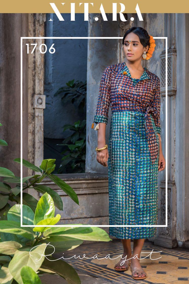 Riwayaat- By NITARA  New Arrival Designer Kurti Catalog