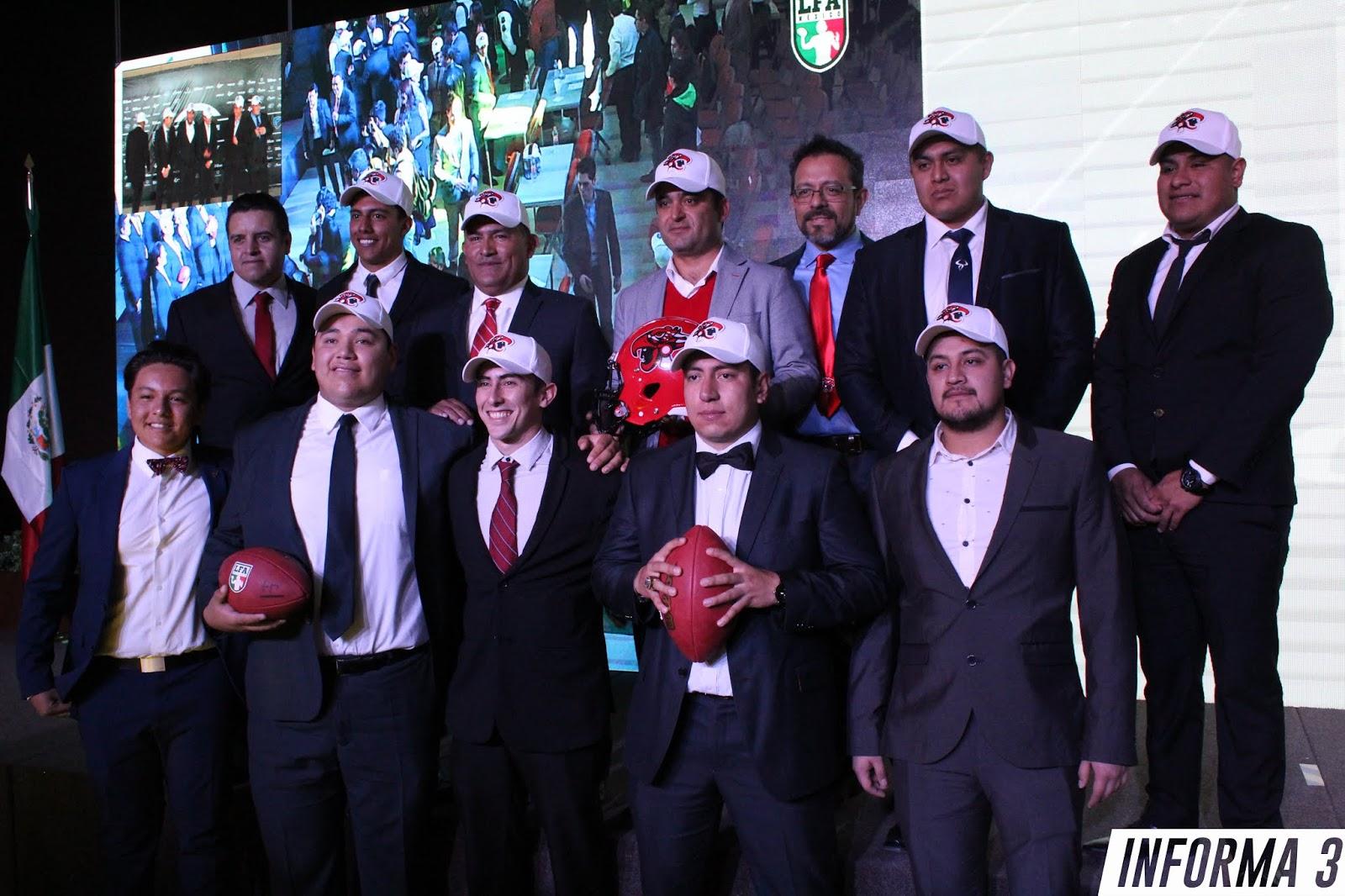 Jugadores seleccionados por Mexicas, Draft LFA 2019
