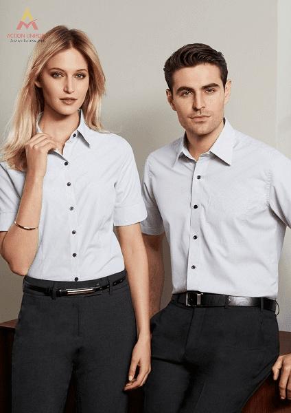 Mẫu áo sơ mi đồng phục công ty 5