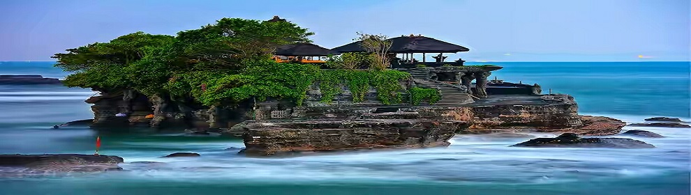 TEMPLE ON THE SEA - TANAH LOT