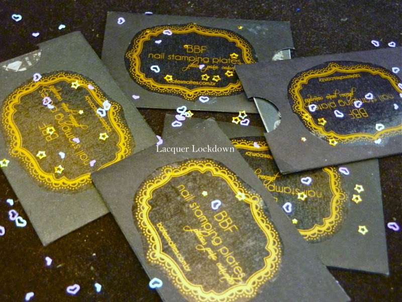 Lacquer Lockdown - Loja BBF, nail art stamping plates, nail art stamping blog, nail art stamping, stamping, moyou londom