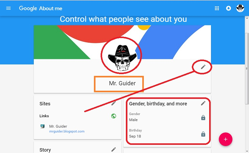 how to change you name on google