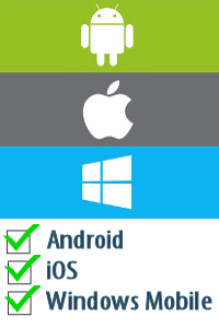 Compatible with Android, iOS and Windows Mobile (Business Process Improvement Tools)