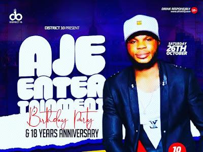INFORMATION : Aje Entertainment Birthday Out Showcase
