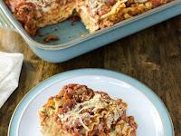 Vegan Cheesy Lentil Lasagna Recipe (gluten-free)