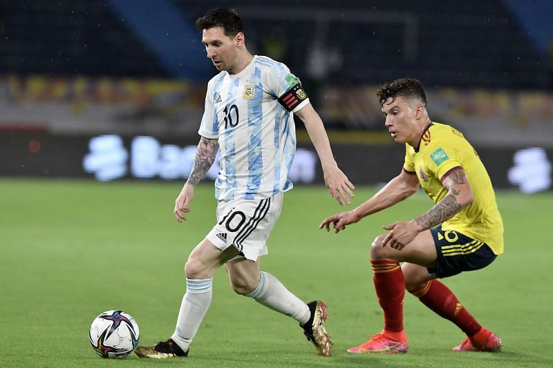 موعد مباراة الأرجنتين وكولومبيا اليوم