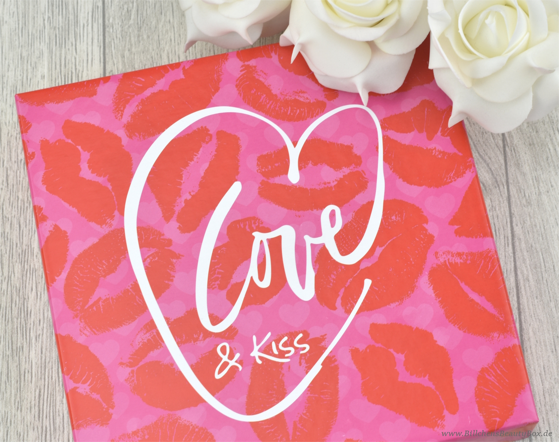 Pink Box Februar 2017 - Love & Kiss - Unboxing & Inhalt