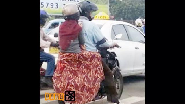 Penitng untuk Ukhti yang Memakai Jilbab Lebar untuk Hati-Hati saat Mengendarai Motor
