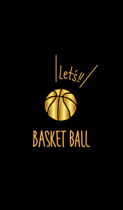 Let's basketball.Golden Theme