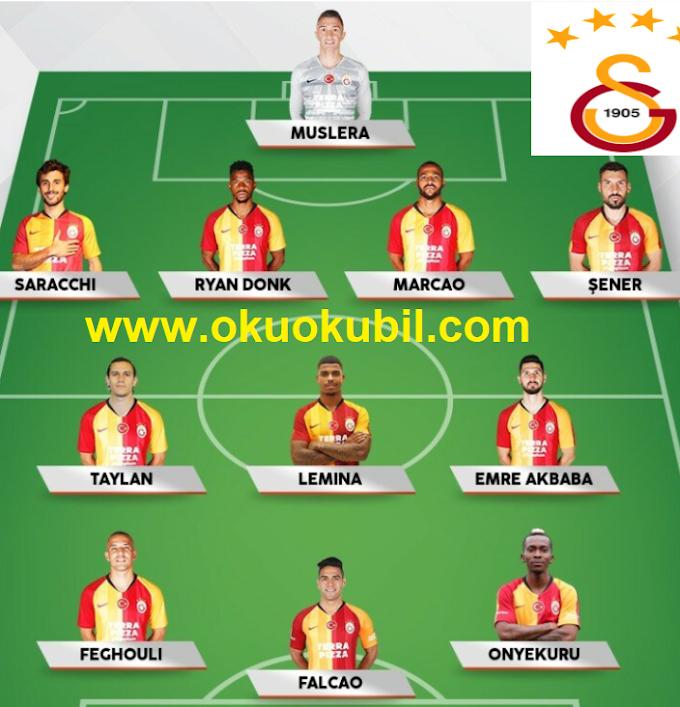 DLS 20 Galatasaray Yeni Transfer Modu İndir Tüm Oyuncular + Para Hilesi 2020
