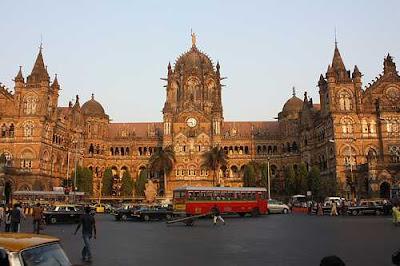 Chhatrapati shivaji terminus,mumbai