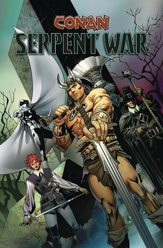 cover of Conan: Serpent War TPB