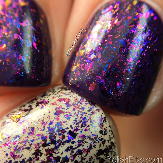 Glitter Daze - Flora Noxia Collection - McPolish - Phosphorescent Nightshade