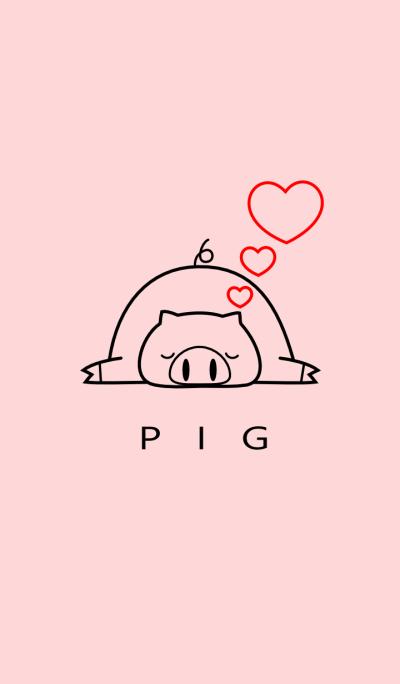 SIMPLE PIG(pink)Ver.3