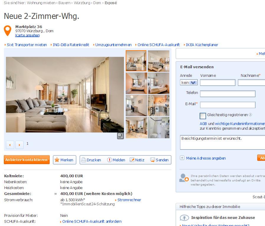 exclusive m blierte 2 zimmer. Black Bedroom Furniture Sets. Home Design Ideas