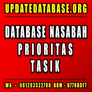 Jual Database Nasabah Prioritas Tasik