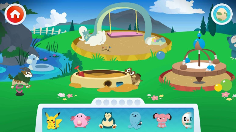 Pokémon Playhouse - Playground