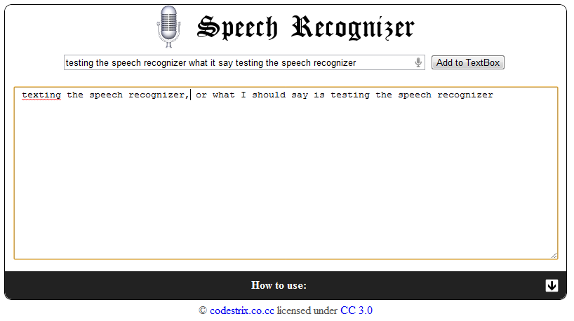 Free Technology for Teachers: Speech to Text in Google Chrome