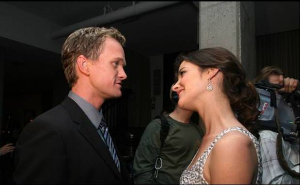 Barney and robin first hook up