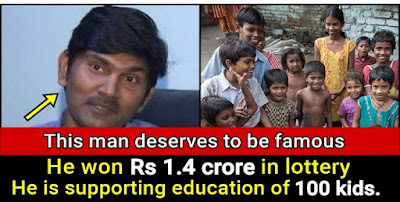Krishna Barri - He is spending money to give free education to hundreds of poor kids.