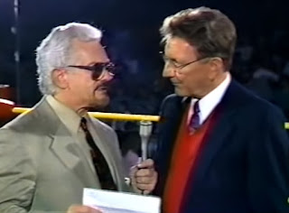 Smoky Mountain Wrestling -Lance Russel and Les Thatcher hosted the event