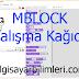 Mblock Çalışma Kağıdı [PDF]