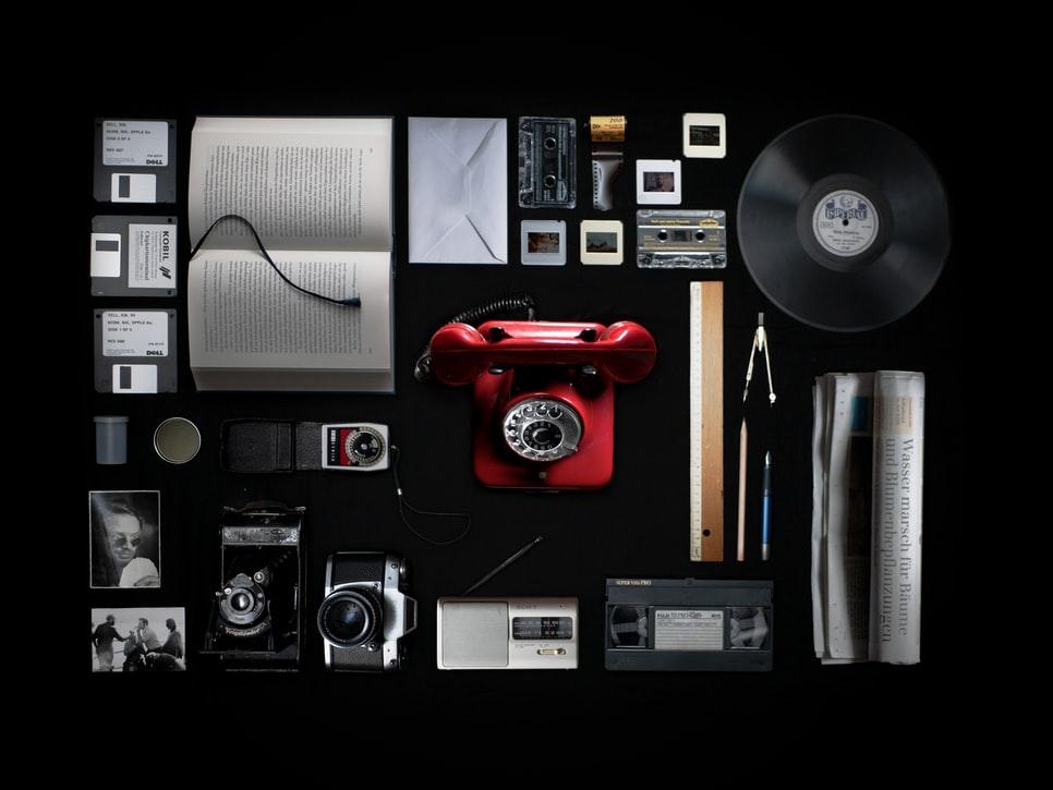 media aparat książka list
