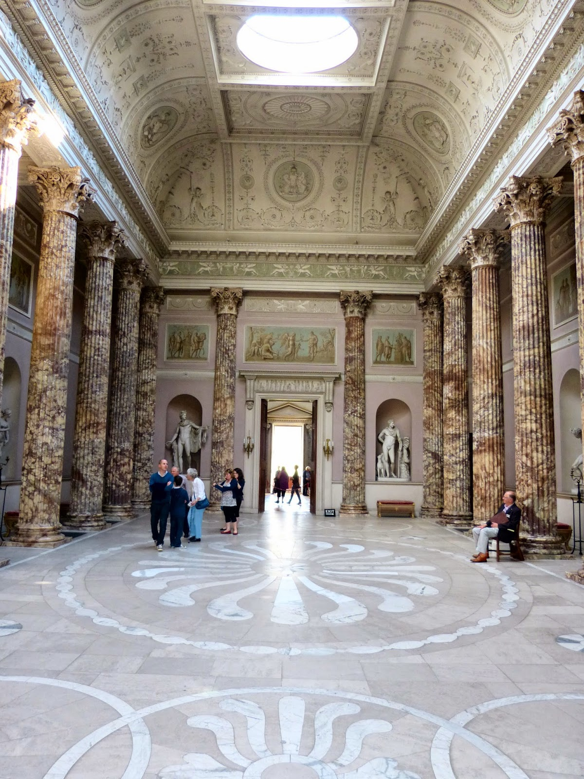 The Marble Hall, Kedleston Hall,