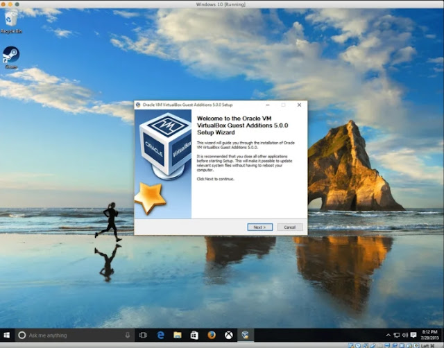 No-hassle way to install Windows 10 with VirtualBox
