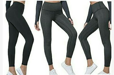 Lethmik Leggings - Ladies High Waist Yoga Pants