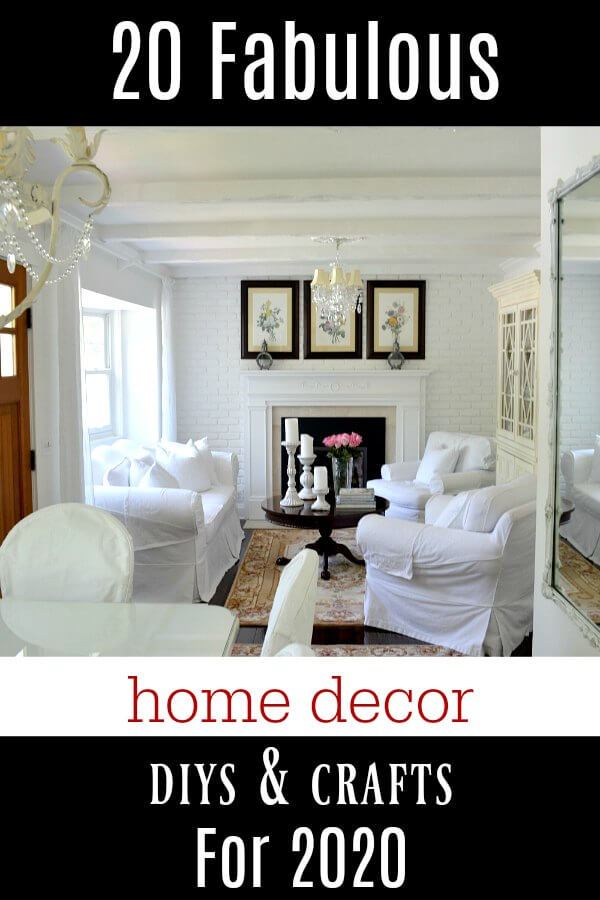 20 Fabulous Home Decor DIYs And Crafts