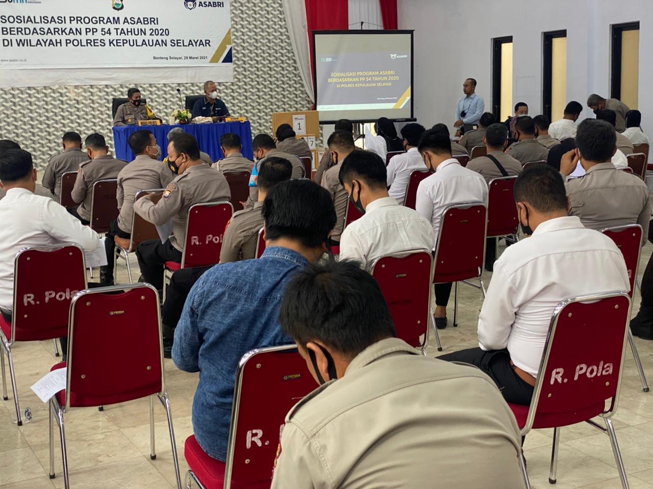 Polres Kepulauan Selayar Terima Sosialisasi Program ASABRI