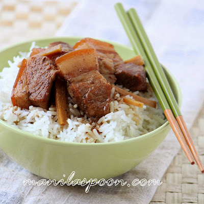 Oftentimes, the simplest and easiest recipes turn out best! This Chinese Five-Spice Braised Pork Belly is all that. There is  nothing complicated at all in this recipe and yet it comes out so flavorful and delightful.