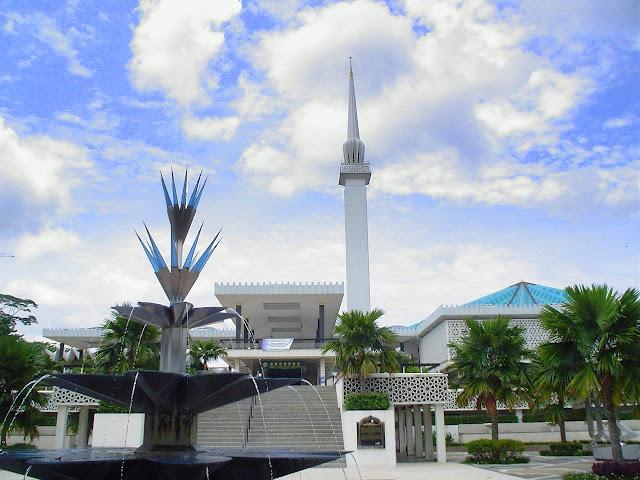 نتيجة بحث الصور عن المسجد الوطني الماليزي