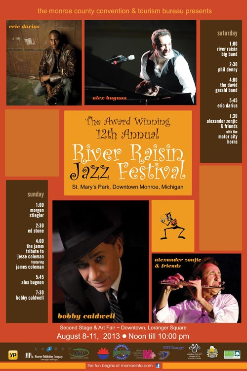 Friendly Ford Monroe Mi >> River Raisin Jazz Festival – 08/ 09-10-11 / 2013 ...