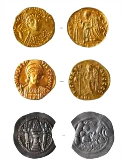 Eastern Roman gold coins found in 1,500-year-old Chinese tomb