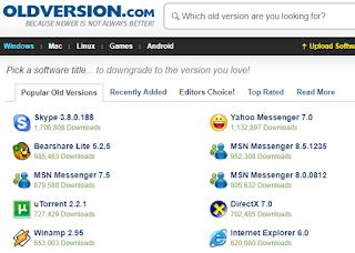 2 Situs Tempat Download Software Musik, Browser, dan Antivirus Versi Lama Terlengkap