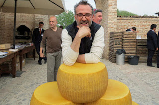 When Massimo Bottura Saving 360,000 Parmigiano Reggiano cheese