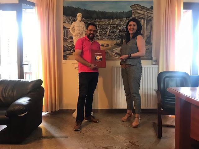 Τον Δήμο Επιδαύρου επισκέφθηκε η Αντιπεριφερειάρχης Τουρισμού Άννα Καλογεροπούλου