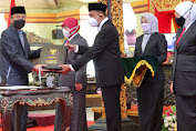 Gubernur Jatim Hadiri Sertijab Bupati Sumenep